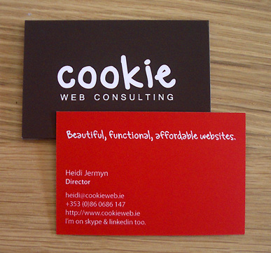 new business cards - yay!