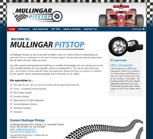 Mullingar Pitstop - click image to launch website
