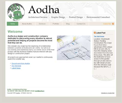 Aodha website (click image to launch website)