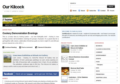 Kilcock News & Events Website