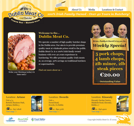 Dublin Meat Company - click to launch website