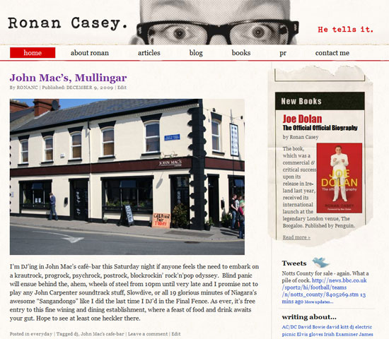 Ronan Casey - Click to launch website