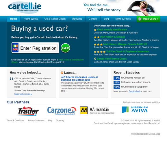 Cartell.ie - click image to launch website