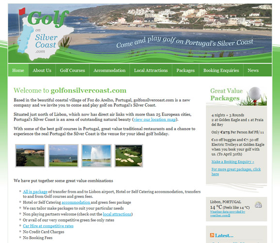 GolfonSilverCoast.com - click to launch website