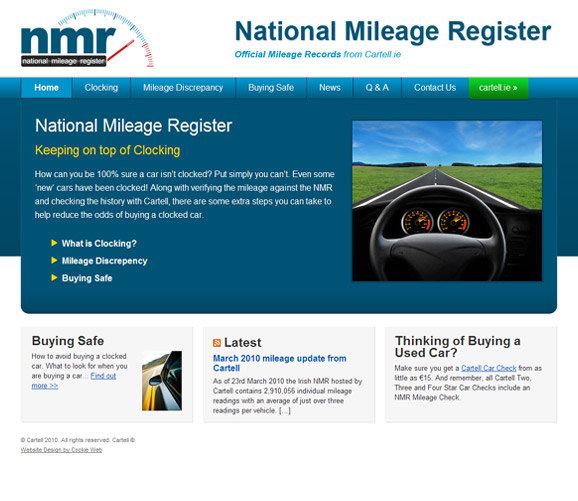 nmr.ie - click image to launch website