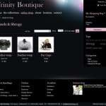 Trinity Boutique Product List