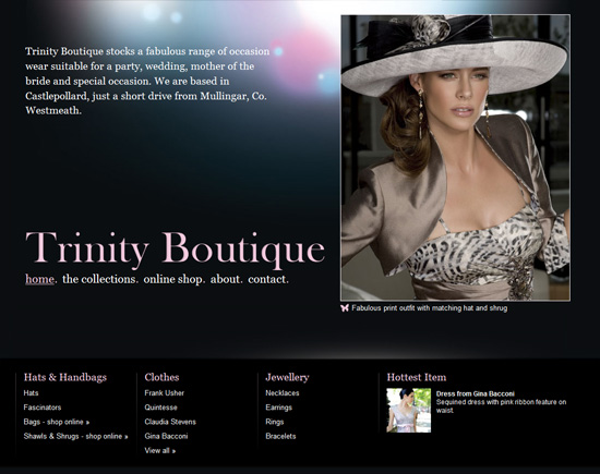 Trinity Boutique - click image to launch website