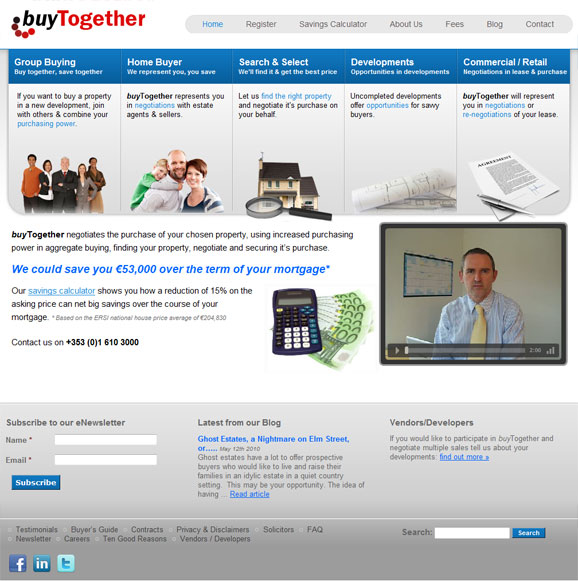 buyTogether website - click picture to launch website