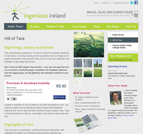 Ingenious Ireland - Guided Podcast Tours
