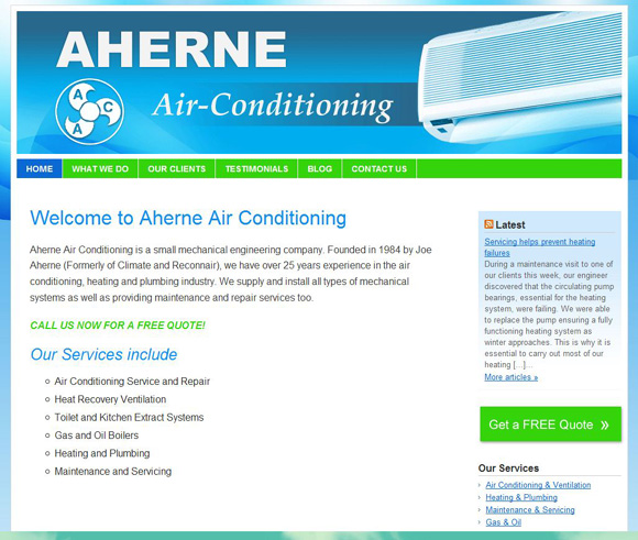 Aherne Air Conditioning