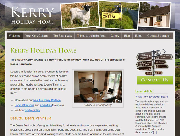 Kerry Holiday Home