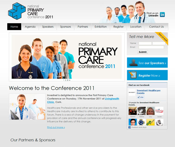 Primary Care Conference - click to launch website