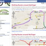 Custom Tab Maps & Routes - Active Travel Mullingar Facebook Page