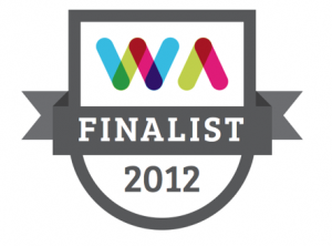 Web Awards Finalist 2012