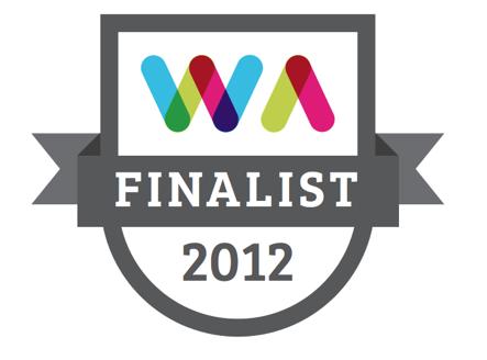 Web Awards Finalist 2012