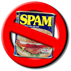 Don't be a spammer! Ensure people can easily unsubscribe from your list.  Photo Credit: hegarty_david via Compfight cc